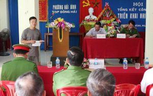 Quảng Bình: Đốt pháo bị phạt hành chính và kiểm điểm trước khu dân cư
