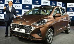 Hyundai Aura 2020 chỉ từ 189 triệu đồng tại Ấn Độ