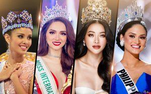 10 nữ hoàng sắc đẹp vạn người mê thập kỉ 2010 - 2019: Hương Giang - Phương Khánh quá đỗi tự hào