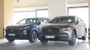 SUV 7 chỗ: Chọn Mazda CX-8 hay Hyundai SantaFe chơi Tết 2020?