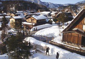 Làng cổ Shirakawago - miền cổ tích Nhật Bản