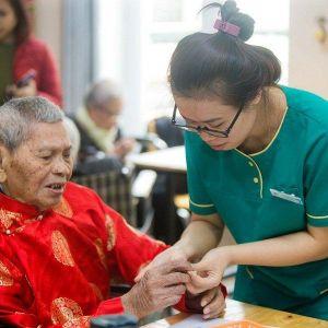 Tết tại Viện dưỡng lão