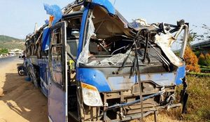 Xe khách chở 46 người lao xuống ruộng ở Phú Yên không có dữ liệu giám sát hành trình