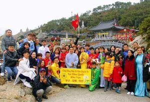 Ấm áp 'Tết Việt trên xứ sở Kim Chi'