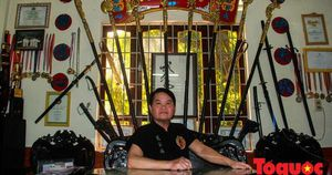 Gặp gia đình võ sư 5 đời giữ lửa cho võ cung đình Huế