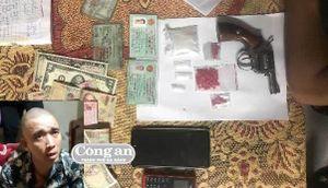 Trữ súng khi bán ma túy