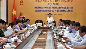 Kiên Giang quyết liệt phòng, chống dịch bệnh do nCoV