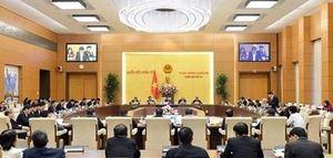 Ban hành nghị quyết về công tác nhân sự và sắp xếp các đơn vị hành chính ở một số địa phương