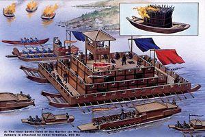 Loạt chiến thuyền 'quái dị' của Trung Quốc xưa