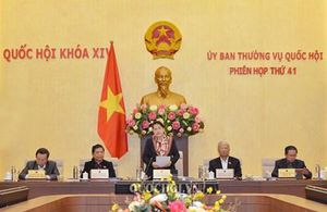 Công bố 27 Nghị quyết của Quốc hội và Ủy ban Thường vụ Quốc hội khóa XIV