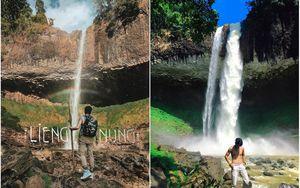 Đã tìm ra thác nước đẹp nhất Tây Nguyên lên hình 'ảo' như cổ tích, vậy mà đó giờ lại hiếm người biết đến vậy