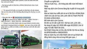 Nhiều xe ở Bình Định miễn phí cho sinh viên về quê tránh dịch cúm Corona