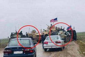 Xe bọc thép BTR-82A của Nga né thiết giáp Mỹ tại Syria