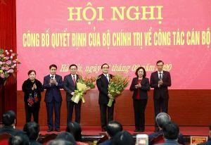 Tân Bí thư Thành ủy Hà Nội Vương Đình Huệ: Nêu cao tinh thần đoàn kết thống nhất, nỗ lực hoàn thành tốt nhiệm vụ được giao