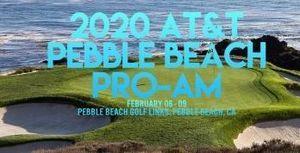 Màn so tài gay cấn vòng 1 AT&T Pebble Beach Pro-Am 2020
