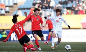 'Thua 0-3 nhưng tuyển Việt Nam không vỡ trận trước Hàn Quốc'