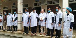 Phó Chủ tịch UBND tỉnh kiểm tra phòng chống dịch do virus Corona tại Diễn Châu