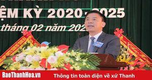 Bài phát biểu của đồng chí Đỗ Trọng Hưng, Phó Bí thư Thường trực Tỉnh ủy, Trưởng Đoàn ĐBQH tỉnh tại Đại hội lần thứ XVIII của Đảng bộ phường Tân Sơn, TP Thanh Hóa