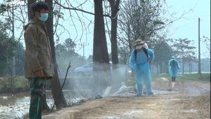 Lập chốt kiểm dịch, phun khử trùng khu vực dịch cúm A/H5N6 ở Hà Nội