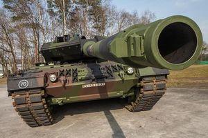 'Vua tăng' Leopard 2A7V của Đức sẵn sàng nghênh chiến xe tăng Nga?
