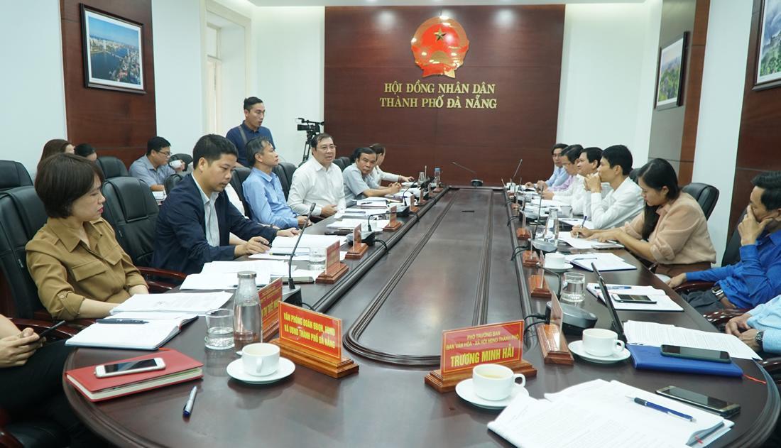 Thống nhất nhiều dự án lớn sẽ đưa ra kỳ họp HĐND TP Đà Nẵng sắp tới