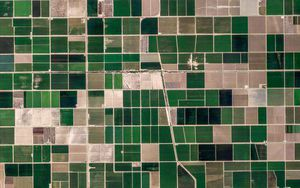 10 ảnh vệ tinh đẹp nao lòng từ Google Earth
