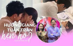 Hương Giang - Tuấn Trần tình tứ mùi mẫn từ trong phim đến ngoài đời thật, fan nghi ngờ đang hẹn hò?