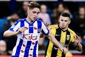 Highlights Vitesse 4-2 Heerenveen: Hàng thủ liên tục mắc sai lầm