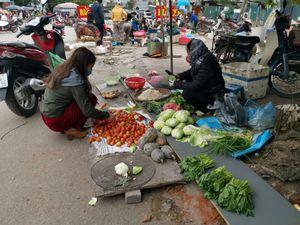 Giá rau xanh tăng bất thường