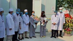 Hai bệnh nhân mắc Covid-19 điều trị ở tuyến huyện khỏi bệnh