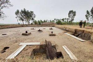 Phát hiện 13 cọc gỗ nghi liên quan đến chiến thắng Bạch Đằng năm 1288