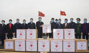 Hỗ trợ tỉnh Quảng Tây (Trung Quốc) phòng, chống dịch Covid-19