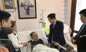 Trưởng Ban Tuyên giáo T.Ư Võ Văn Thưởng thăm thầy thuốc Lê Đăng Hà