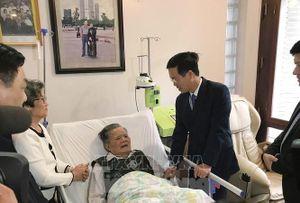 Trưởng ban Ban Tuyên giáo Trung ương thăm thầy thuốc Lê Đăng Hà