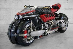 Siêu môtô 4 bánh Lazareth LM 410: Mẫu môtô 'bay' độc đáo trên đường