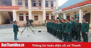 Ban Chỉ huy Quân sự huyện Nga Sơn dẫn đầu phong trào thi đua quyết thắng