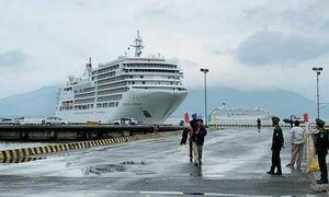 Tàu chở hơn 600 du khách từng ghé một số nước châu Á, sắp đến TPHCM