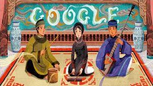 Ca trù Việt Nam được thay thế làm biểu tượng Google