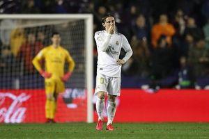 Thua bạc nhược Levante, Real chính thức mất ngôi đầu vào tay Barca