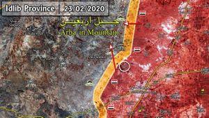 SAA tấn công giữa đêm, phiến quân mất thêm địa bàn Idlib
