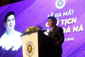 Hà Nội FC ra mắt Chủ tịch CLB trẻ nhất V-League