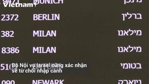 Israel tuyên bố từ chối nhập cảnh hành khách tới từ vùng dịch