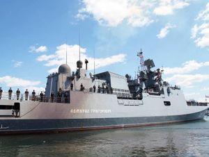 Nga điều 2 tàu hộ vệ mang tên lửa Kalibr tới Syria