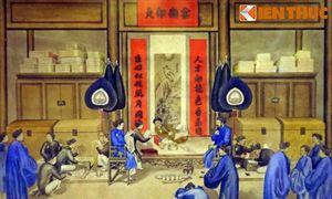 Bộ tranh cổ cực quý về bộ máy triều đình nhà Nguyễn