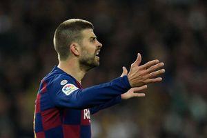 Barcelona mất ngôi đầu sau El Clasico, Pique nói gì?