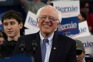 Bầu cử Mỹ 2020: Ứng cử viên Bernie Sanders tiếp tục duy trì ưu thế