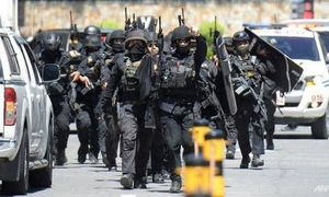 Philippines: Kẻ có vũ trang bắt 30 người làm con tin tại TTTM
