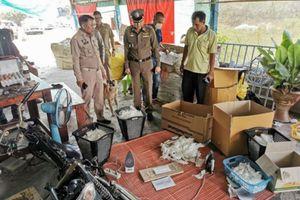 Thái Lan phát hiện xưởng 'tái chế' khẩu trang đã qua sử dụng