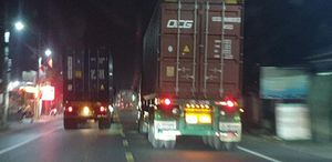 Nỗi ám ảnh xe container 'né' trạm thu phí ở Tiên Lãng (Hải Phòng)