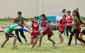Phong trào chơi bóng bầu dục ở một miền quê